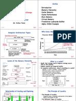 Computer Architecture Cache Design