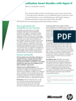 HP Virtualisation Smart-Bundles Hyper-V Data-Sheet