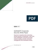 GoToMyPC Corporate Security White Paper