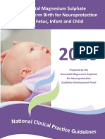 Cp128 Mag Sulphate Child
