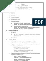 St. Tammany Parish school board agenda