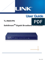 Tl-r600vpn v1 User Guide