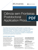 Ciência sem Fronteiras Postdoctoral Application Process