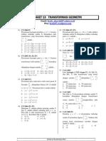 13.PaketSoalBabTransformasiGeometri