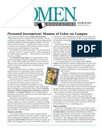 Women in Higher Education, vol. 22, no. 3 page 19 (March 2013)