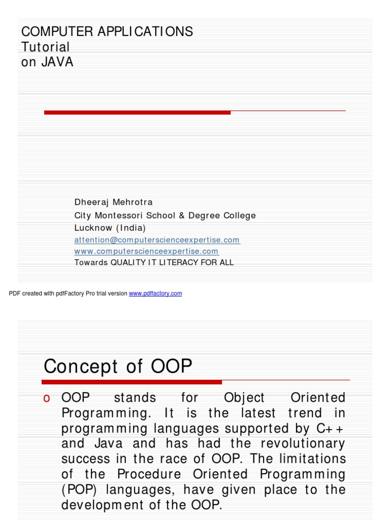 Java program tutorial pdf image collections any tutorial examples java learning made easy constructor object oriented programming java learning made easy constructor object oriented programming baditri Gallery