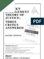 Nozick's Entitlement Theory Of Justice [Three Critics Answered].pdf