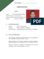 Curriculum Vitae Julian Arce c