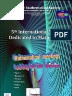 Πρόγραμμα Μαθηματικής Εβδομάδας 2013 (12-3-13)