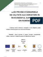 07 Standarde de CalitateGHIDUL de CERCETARE Stiintifica Doctoranzi3
