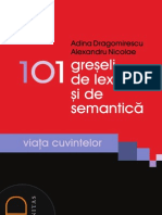 DEMO-Adina Dragomirescu 101 Greseli de Lexic Si de Semantica