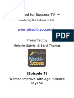 Women Improve With Age, Science Says So [Episode 7] Wired For Success TV