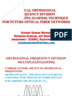 Optical Orthogonal Frequency Division Multiplexing for Future Optical Fiber Networks