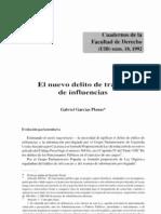 Gabriel Garcias Planas - El Nuevo Delito de Trafico de Influencias