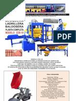 PLANTA ZZB-10 AUTOMATICA COMPLETA PARA BLOQUES  LADRILLOS Y BALDOSAS.pdf