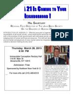 Exposing Agenda 21-A presentation by Hal Shurtleff of The John Birch Society