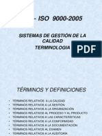 NTC ISO 9000-2005 Vocabulario