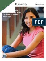 AusAID Australia Awards Scholarships for Latin America [English]