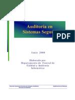 Auditoria en Sistemas Seguros