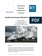 Example_Geothermal Energy Utilisation in Iceland