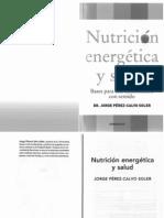 Livro Nutrición energética y salud