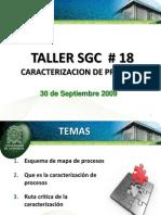 Taller Sgc 18