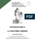 MODULO 1 Introduccion Al Estudio de La Anatomia Humana KINE 2013