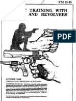 combat training pistols & revolvers