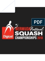 DIGICEL Bermuda National Squash Championships 2013 Draws