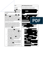 Comparison of FOIA Releases MSU for Blow Up