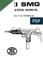 uzi sub machine gun operation manual