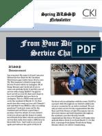 Spring DLSSP Newsletter