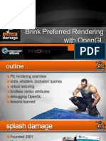 Brink Preferred Rendering With OpenGL