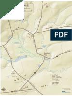 Locator Map of Sheffield Mills, Nova Scotia