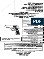 army m9 9mm pisto