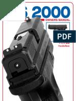 hs 2000 9x19mm parabellum pistol
