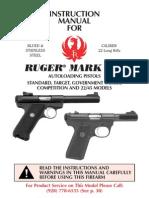 ruger mark iii autoloading pistol manual