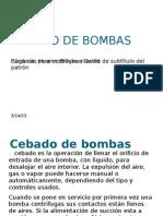 Cebado de Bombas Cardenas