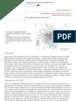 ELEMENTOS DE UMA POLÍTICA DE TRANSPORTES PARA