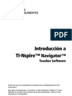 TI-Nspire Navigator Getting Started ES