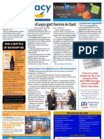 Pharmacy Daily for Thu 14 Mar 2013 - Australia\'s poor performance, HMR forms, Cipla in Melbourne and much more...