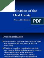 Examination of the Oral Cavity2