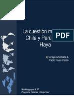 Caso Haya Peru - Chile