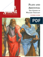 Plato and Aristotle the Genesis of Western Thought Aryeh Kosman
