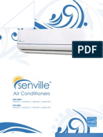 Senville Split Air Conditioners Catalog