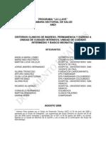 Criterios Ingreso Permanencia Egreso 2008 20100609 043144