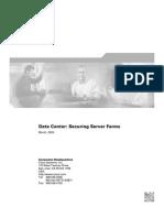 Data Center - Securing Server Farms