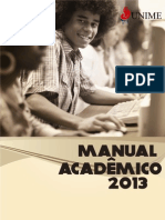 Manual do acadêmico 2013.1