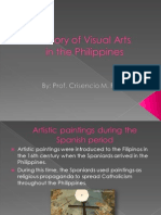 History of Visual Arts in the Philippines