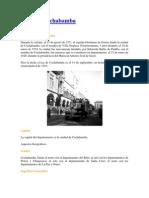 Historia Cochabamba